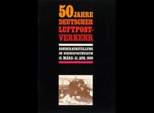 AEROPHILATELIE: 50 Jahre Deutscher Luftpost-Verkehr