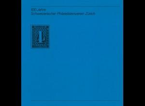 100 Jahre Schweizerischer Philatelistenverein Zürich, 1984