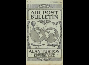 AEROPHILATELIE: Air Post Bulletin, London 1923-1928.