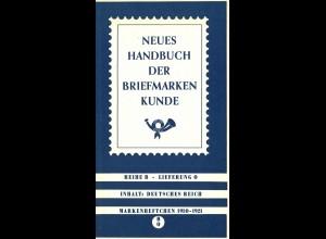 Neues Handbuch der Briefmarkenkunde, Reihe B, Lieferung 0 - 4, Frankfurt 1968.