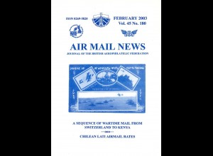 AEROPHILATELIE: Air Mail News, 2003-2006.