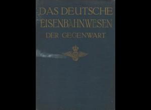 Das Deutsche Eisenbahnwesen der Gegenwart Bd. I, Berlin: Hobbing 1911.