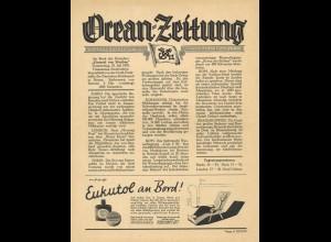 Ocean-Zeitung. Offizielle Bordzeitung des Norddeutschen Lloyd, Bremen, Juli 1935