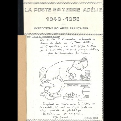 POLARPOST: La Poste en Terre Adélie 1949-1953. Expeditions Polaires Francaises.