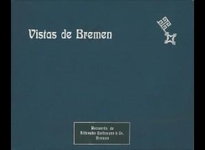 BREMEN: Vistas de Bremen, Bremen: Köhncke Gathmann o. J.
