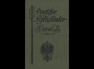 Deuscher Postkalender 1910