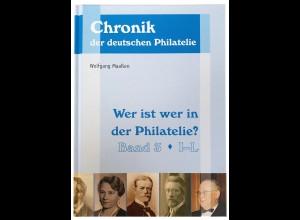 Wolfgang Maaßen: Wer ist wer in der Philatelie? Band 3: I–L