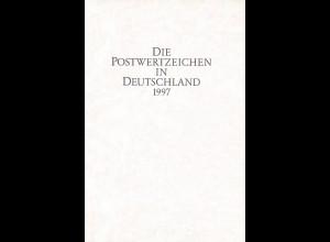 Die Postwertzeichen in Deutschland 1997.
