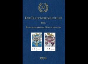 Die Postwertzeichen der Bundesrepublik Deutschland 1998.