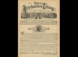 Illustrirte Briefmarken-Zeitung, 1. + 2. Jg., 1888 und 1889