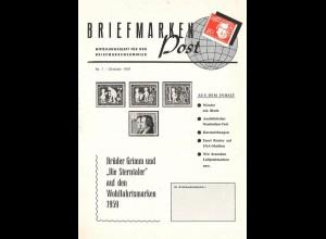 Briefmarkenpost, Mitteilungsblatt für den Briefmarkensammler.