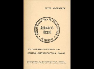Vier Schriften über Poststempel.