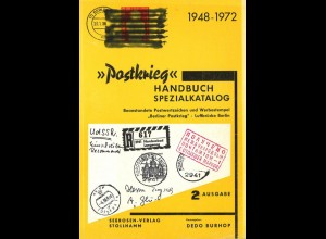 "Burhop, Dedo (Hrsg.), ""Postkrieg"" Handbuch Spezialkatalog 1948 - 1972."