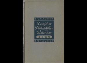 Deutscher Philatelisten Kalender, Schaubek 1936.