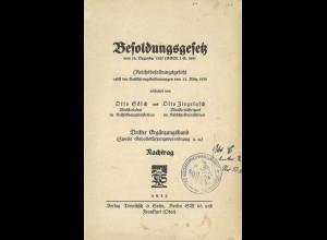 Gesetze und Vorschriften des Reichspostministeriums 1932-39.