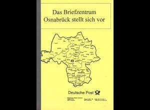 Das Briefzentrum Osnabrück stellt sich vor, Osnabrück 1998.