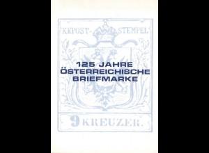 125 Jahre Österreichische Briefmarke, Wien 1975.