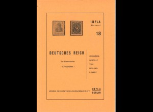 """Smidt, Leendert, Deutsches Reich: Das Wasserzeichen """"Kreuzblüten"""", Berlin 1984."""