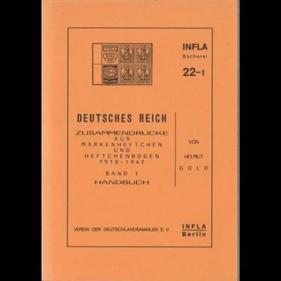 Gold, Helmut, Deutsches Reich: Zusammendrucke, Berlin 1988.