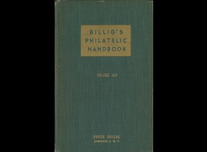 Billig's Philatelic Handbook Vol. 13, New York 1950.