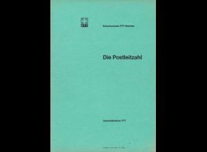 Schweizerische PTT-Betriebe: Die Postleitzahl (PLZ), Gründe und Hintergründe.