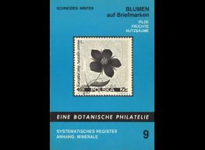 Briefmarken-Motiv-Katalog: Blumen auf Briefmarken, Wien 1974.