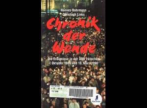 Bahrmann/Links: Chronik der Wende