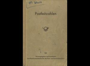 Postleitzahlen, Hrsg. Bundesministerium für das Post- und Fermeldewesen, Bonn 1961.