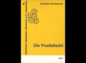 Vergiss-Mein-Nicht. Die Postleitzahl, Deutsche Bundespost, Bonn 1971.