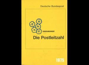 Vergiss-Mein-Nicht. Die Postleitzahl, Deutsche Bundespost, Bonn 1975.