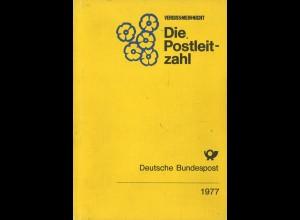 Vergiss-Mein-Nicht. Die Postleitzahl, Deutsche Bundespost, Bonn 1977.