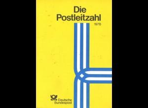 Die Postleitzahl, Deutsche Bundespost, Bonn 1978.