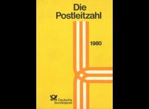 Die Postleitzahl, Deutsche Bundespost, Bonn 1980.