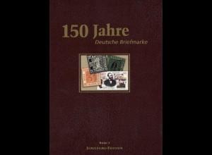DEUTSCHLAND: 150 Jahre Deutsche Briefmarke, drei Bände