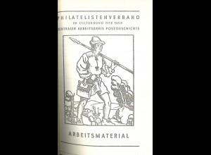 Philatelistische Arbeitsmaterialien für Arbeitskreise, Berlin 1976/79.