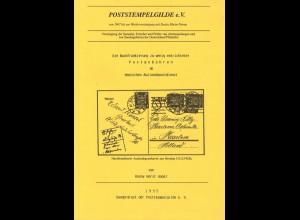 Poststempelgilde e.V. Soest: Sonderdruck 1995, Gildebrief 1998 und NSR, Heft 153/1998