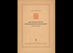 Postgeschichte Ostsachsens, Ostpreußens und des Sudetenlandes