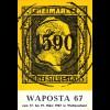 WAPOSTA 67, Postwertzeichen-Ausstellung, Wattenscheidt 1967.