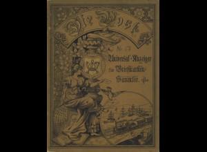 Die Post. Universal-Anzeiger für Briefmarken-Sammler, Leipzig 1895.