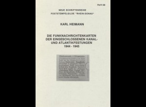 """Neue Schriftenreihe der Poststempelgilde """"Rhein-Donau"""", Heft 89 + 93."""