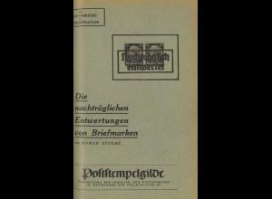 Schriftenreihe der Poststempelgilde, Heft 1 - 5, 1941-47.