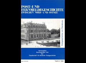 Blätter zur Geschichte des Post- und Fernmeldewesens zwischen Nord- und Ostsee