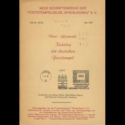 Heinrich Dürst und Ruprecht Glasewald, Katalog der deutschen Freistempel