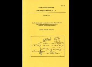 Neue Schriftenreihe der Poststempelgilde e.V., Heft Nr. 142, Soest 1995.