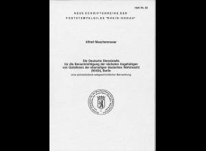 """Neue Schriftenreihe der Poststempelgilde """"Rhein-Donau"""", Heft Nr. 92"""