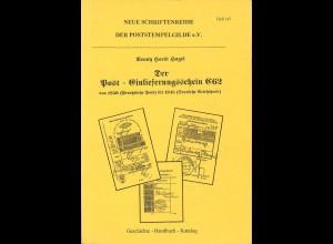 R.H. Hagel: Der Post-Einlieferungsschein C 62 von 1850 bis 1945