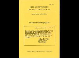 Neue Schriftenreihe der Poststempelgilde e.V., Heft Nr. 150, Soest 1998.