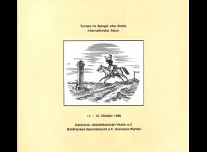 Europa im Spiegel alter Briefe. Internationaler Salon 11. - 12. Oktober 1986.