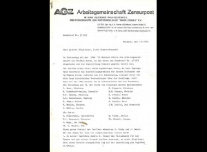 Arbeitsgemeinschaft Zensurpost 1973/1981