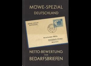 Möwe-Spezial Deutschland. Netto-Bewertung von Bedarfsbriefen, Göttingen 1960.